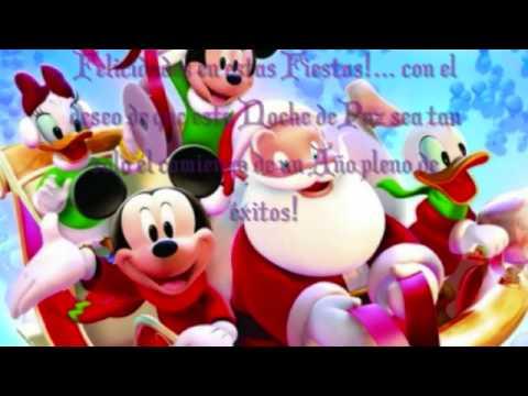 Felicitaciones De Navidad De Disney.Felicitacion Navidena