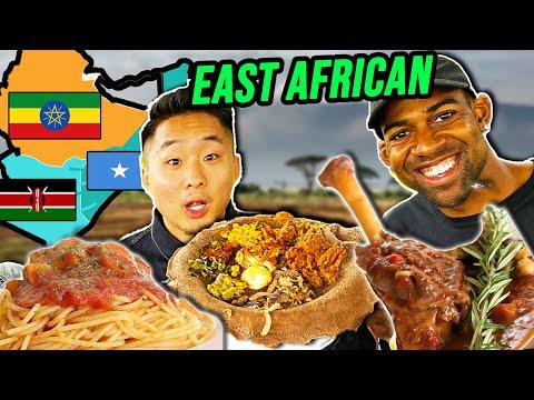 Kenyan VS Ethiopian VS Somali Food! (East African Street Food & Restaurants)