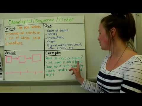 Mrs. Patrick on Text Structures