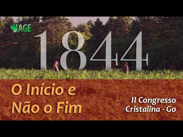 148 - I CONGRESSO IAGE - 1844, O INÍCIO E NÃO O FIM (palestra 3)