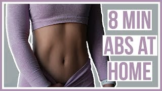 BEGINNER AB WORKOUT | FOLLOW ALONG WITH ME