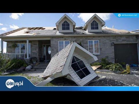 إعصار مرعب في كندا يدمر بيوتا ويقطع الكهرباء  - نشر قبل 2 ساعة