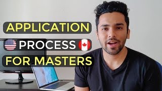 Application Process For MS | How To Apply For Masters in USA / Canada?