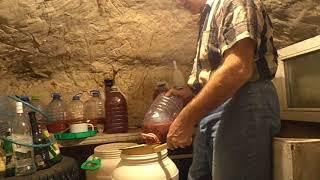Домашняя вино из слив, сливовица - спустя месяц ч.2