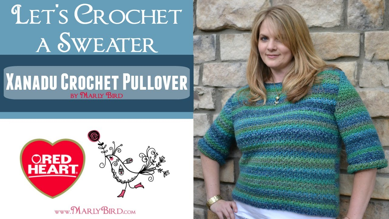 6302af531685 Xanadu Crochet Pullover