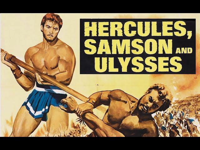 HERKULES, SAMSON UND ODYSSEUS - Trailer (1963, Deutsch/German)