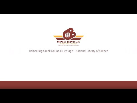 Relocating Greek national Heritage – National Library of Greece