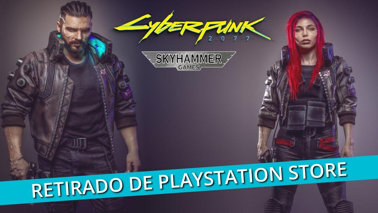 CYBERDESASTRE 2077: SONY RETIRA CYBERPUNK 2077 DE SU TIENDA DIGITAL - ps5 - playstation 5 - xbox