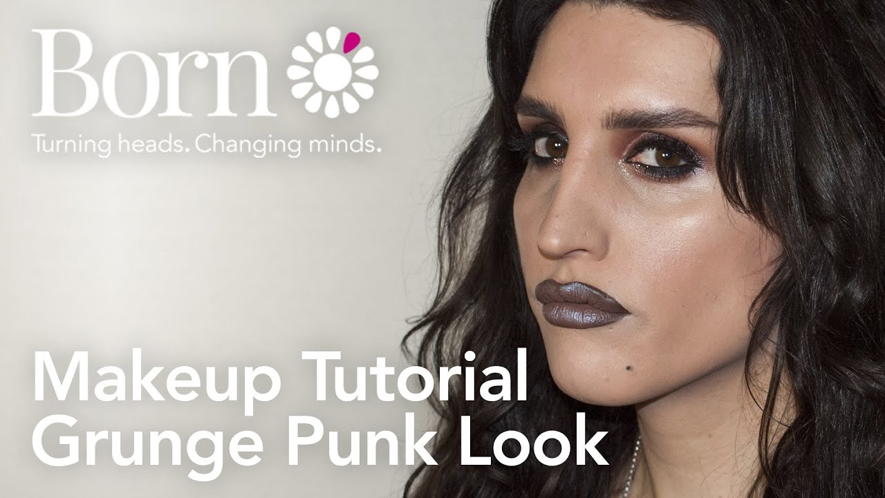 Edgy punk makeup tutorial saubhaya makeup jpg 1920x1080 80s grunge makeup tutorial
