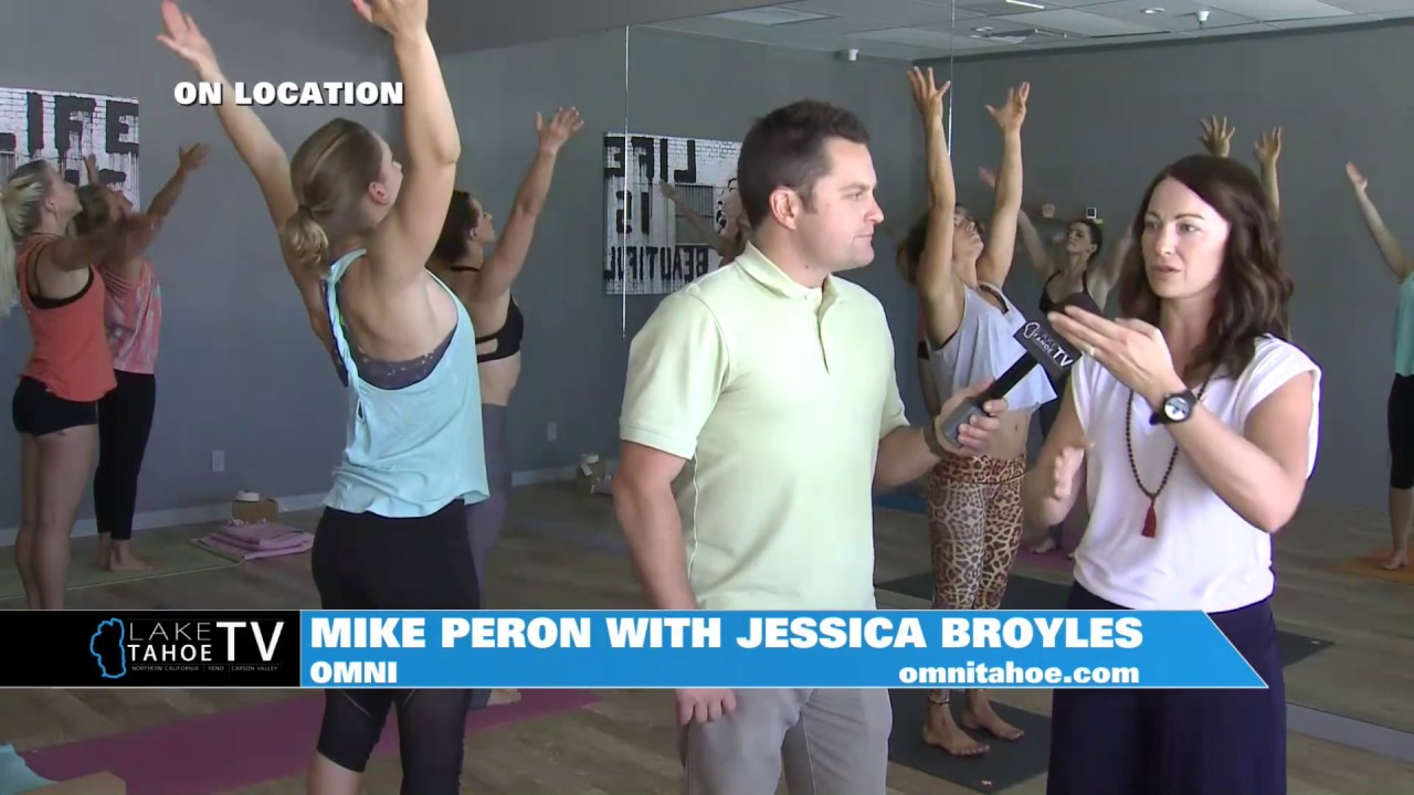 Lake Tahoe TV - OMNI - Yoga Class Feature