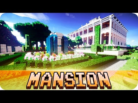 minecraft---plantation-mansion---fully-furnished-house