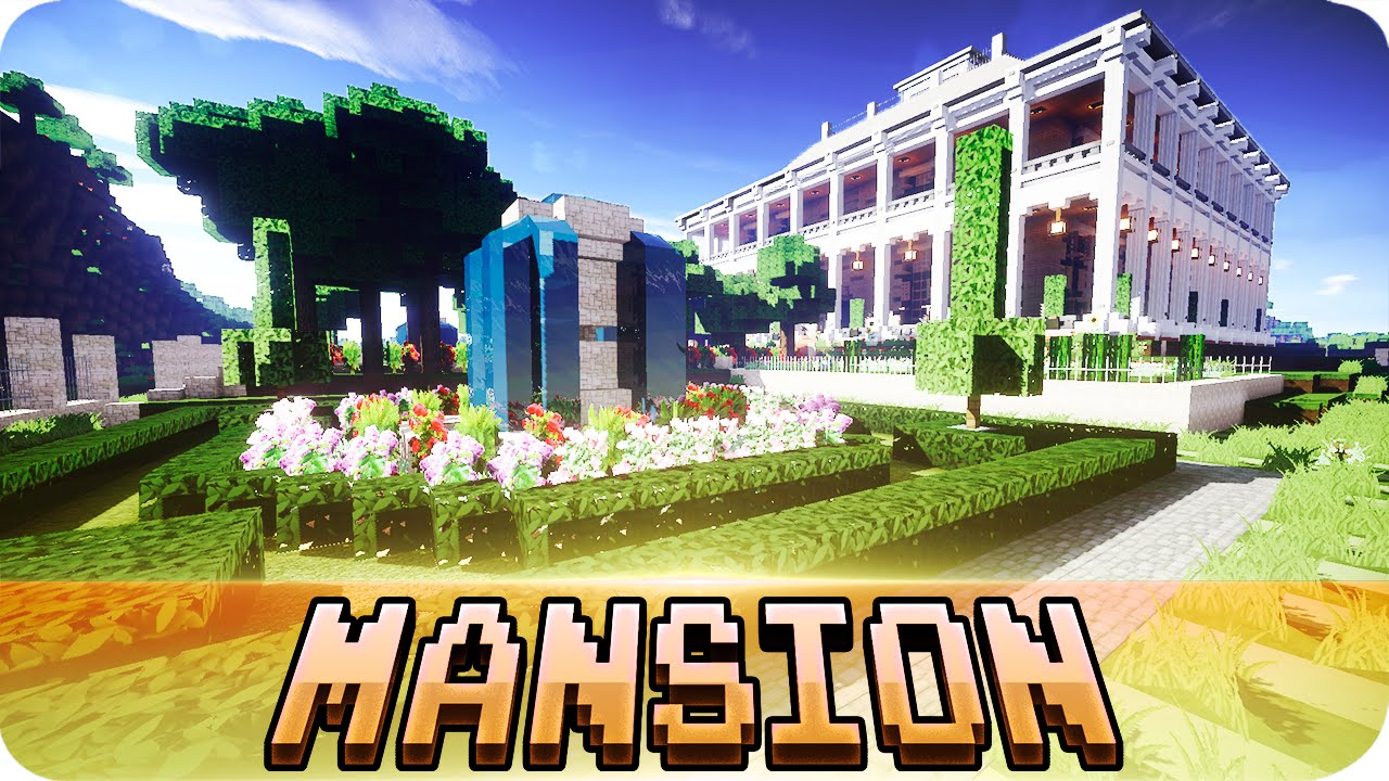 Minecraft - Plantation Mansion - Fully Furnished House