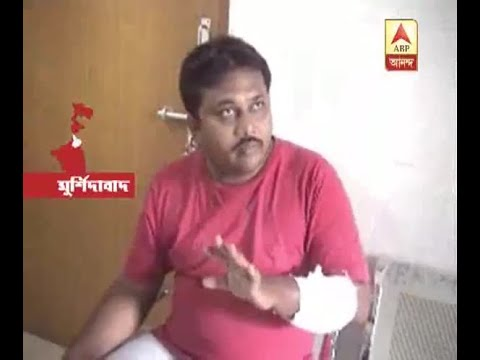 Again the protester attack at Baharampur while protesting Eve teasing