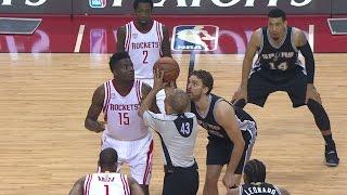 NBA Game Spotlight: Spurs at Rockets Game 3