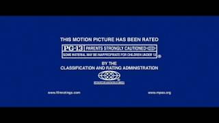 MPAA Rating PG-13 Screen (2009)