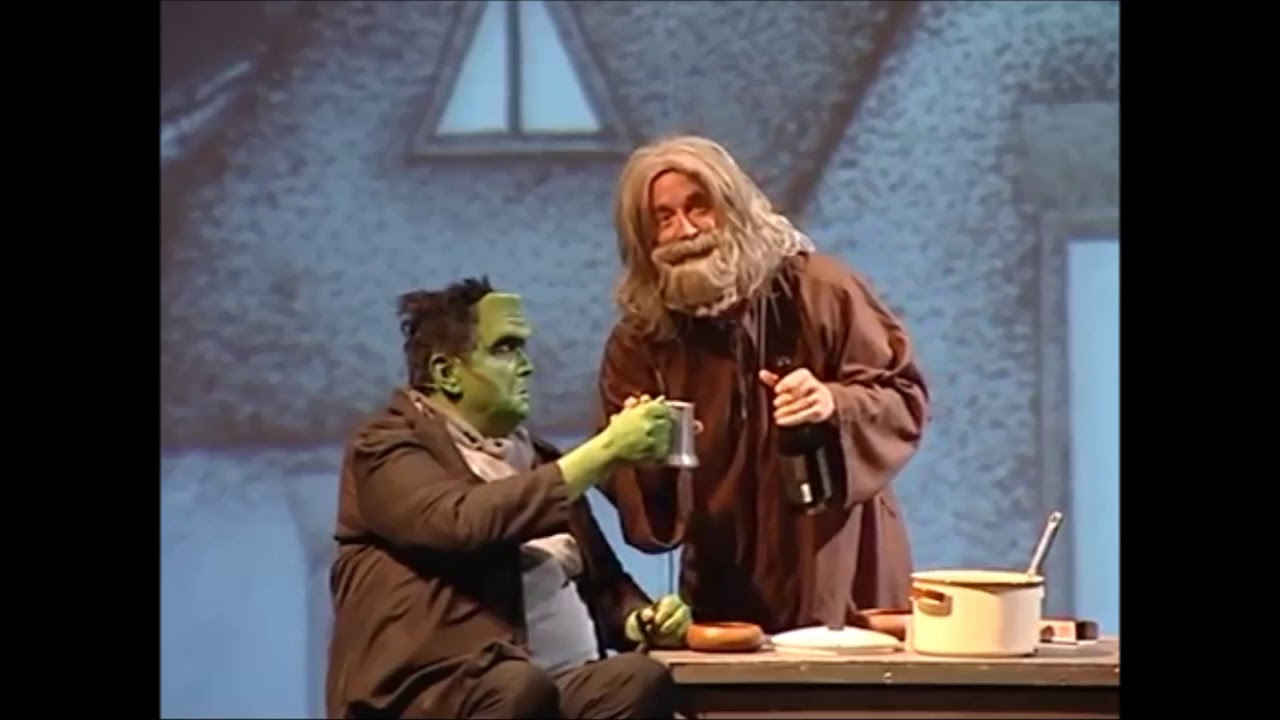 Young Frankenstein The Musical Harold The Hermit And The Monster