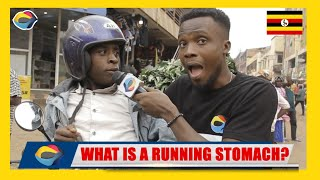 What is a RUNNING STOMACH? | Street Quiz 🇺🇬 | Funny Videos | Funny African Videos | African Comedy |