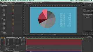 Pie Chart preset for After Effects - UPDATE