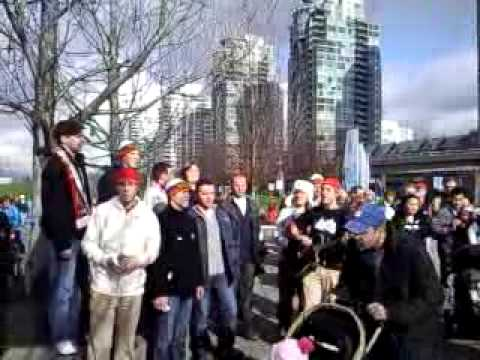 Russian Christians Singing in Vancouver BC 2010