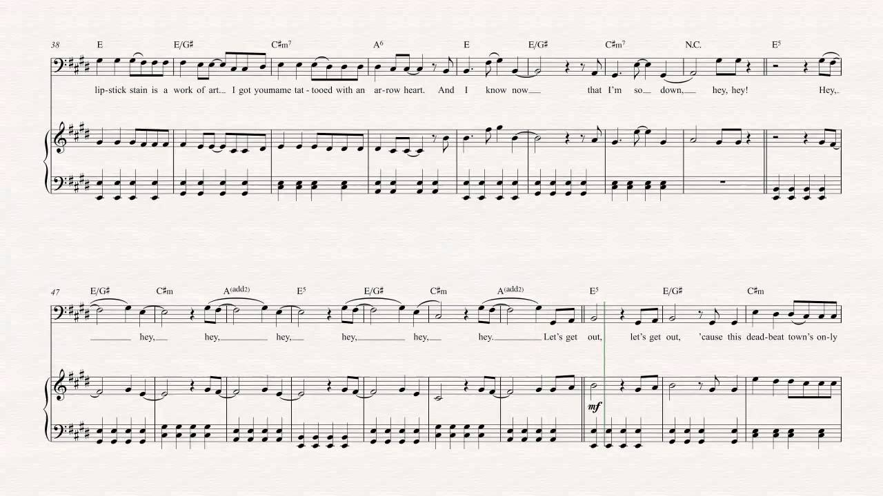 Cello She Looks So Perfect 5 Seconds Of Summer Sheet Music