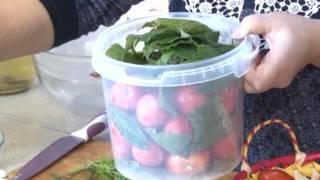 Полезные советы (засолка помидоров)