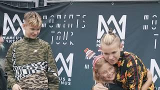 Marcus & Martinus - Moments Tour in Borlänge, Sweden 2018