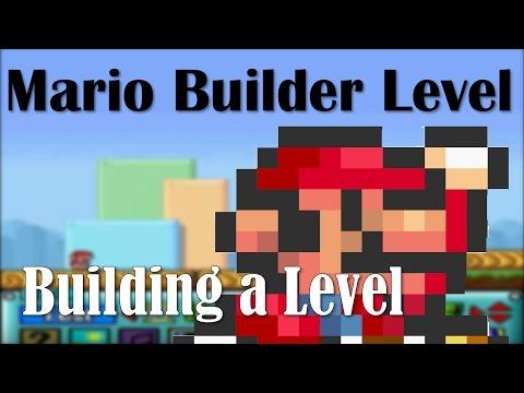 Mario Builder LIVE - Building A Level