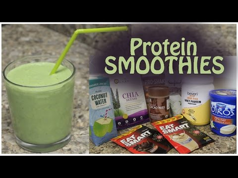 My Favorite Protein Smoothies | Easy Recipes