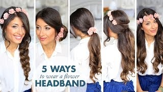 5 Ways to Wear a Flower Headband
