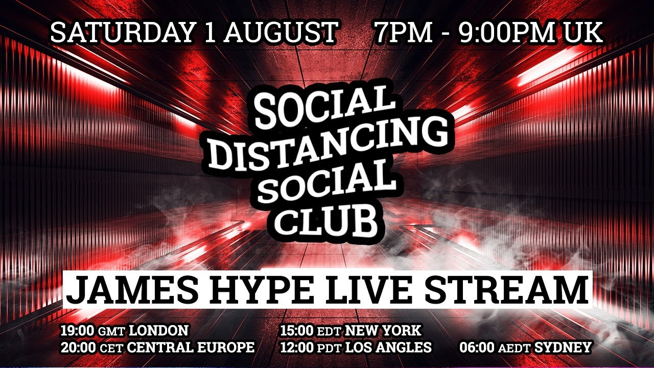 James Hype - Live Stream #stayhome #withme 01/08/20