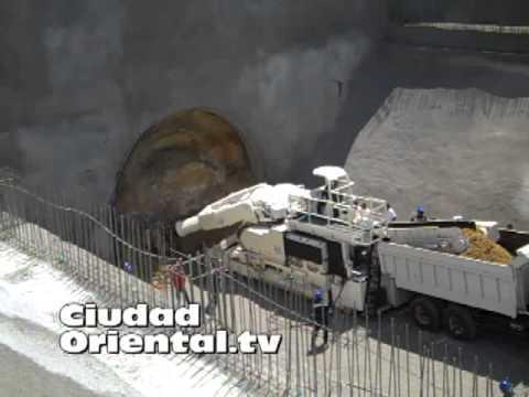 Primeros 21 minutos de construcción del túnel para la 2da Línea del Metro en SDE