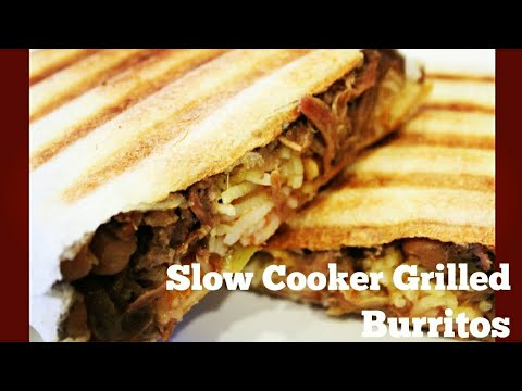 How To: Slow Cooker Grilled Beef Burritos Using Breville Smart Oven Air & Cuisinart Griddler (122)