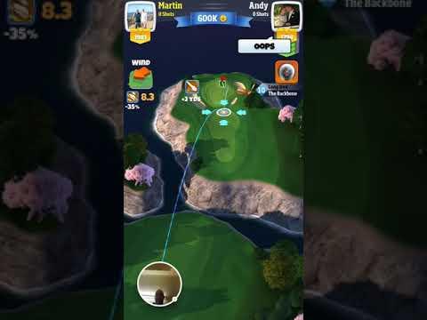 Martin Draper HIO Golf Clash - 2017-12-24
