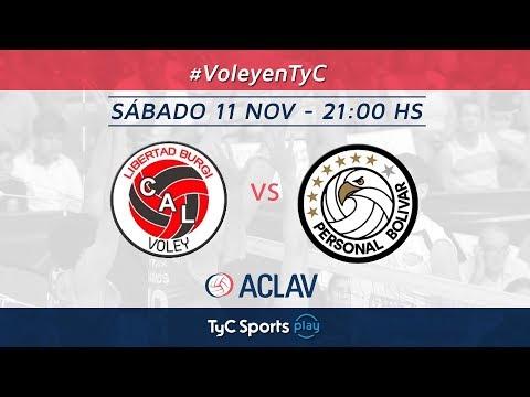 Liga Argentina: Libertad Burgi Voley vs. Personal Bolívar l #VoleyEnTyC