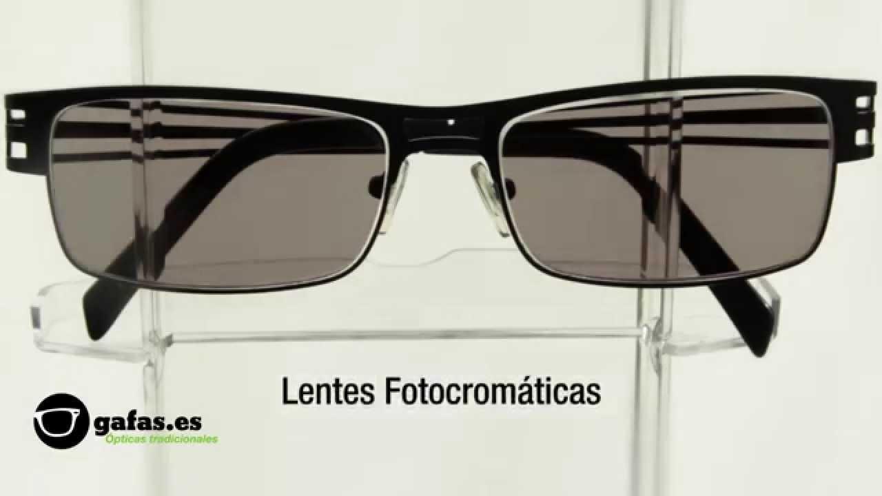 fd95ab5874 Demo: Gafas Fotocromáticas - YouTube
