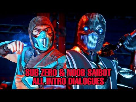 Noob Saibot & Sub-Zero All Intro Dialogues