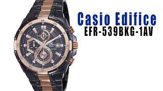 Reloj Casio Edifice modelo EFR-539BKG-1AV