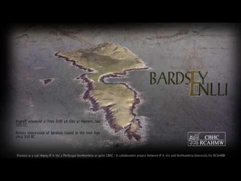 Ynys Enlli tua 500 CC - Bardsey Island circa 500 BC