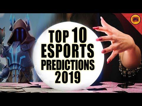 Top 10 Esports Predictions (2019)