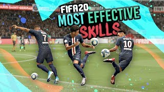 THE MOST EFFECTIVE SKILLS IN FIFA 20!