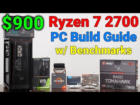 Ryzen 7 2700 — $900 PC Build Guide — 1440p Gaming Deal — February 2020