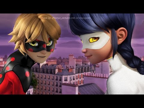 Mister Bug And Lady Noir Akumatized [Miraculous LadyBug Speededit]
