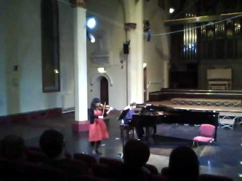 Leticia Marquez Sonata no. 5 for violin and piano ...