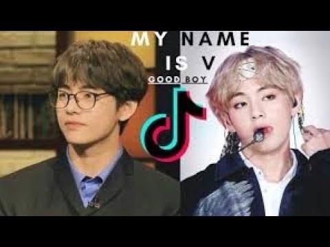 Hi guys my name is v ,iam a good boy ( tae ) × thrift shop} edits .[ Tik tok trending song+video]BTS