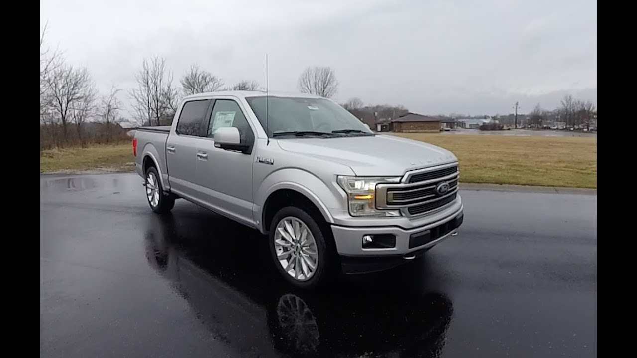 2018 ford f 150 supercrew limited 4x4 walk around video in. Black Bedroom Furniture Sets. Home Design Ideas
