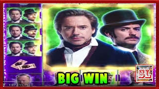 ** NEW GAME ** BIG WIN ** Sherlock Holmes n Others ** SLOT LOVER **(Slot Lover - Slot Machine Videos Channel Usually Post : Big Wins, Super Big Wins, Live Play, Double or Nothing, High Limit Pulls with Friends To Support our ..., 2017-02-08T19:31:54.000Z)