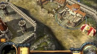 Settlers: Heritage of Kings - Legends Пылающие берега часть 2 (прохождение)