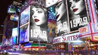"""""""1929 – EN GANGSTERMUSICAL"""": Ankomst til Folketeatret (Musicalteatret 2015)"""