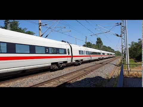 Download Durchfahrt ICE-T Bingen am Rhein in Oschatz in Richtung Leipzig