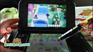 ASMR  Whispered Gameplay for Sleep  Animal Crossing Happy Home Designer